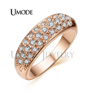 Perfect  Classic Wedding Rings Rose Gold Color - Best online sale store in USA