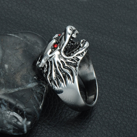 Game Of Thrones House Starks Winter fell Wolfe Signet Ring A Song Ice And Fire