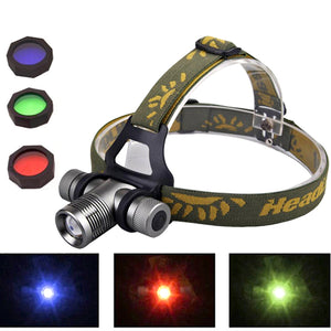 CREE Q5 Zoom Head Light LED Zoomable Headlamp Headlight