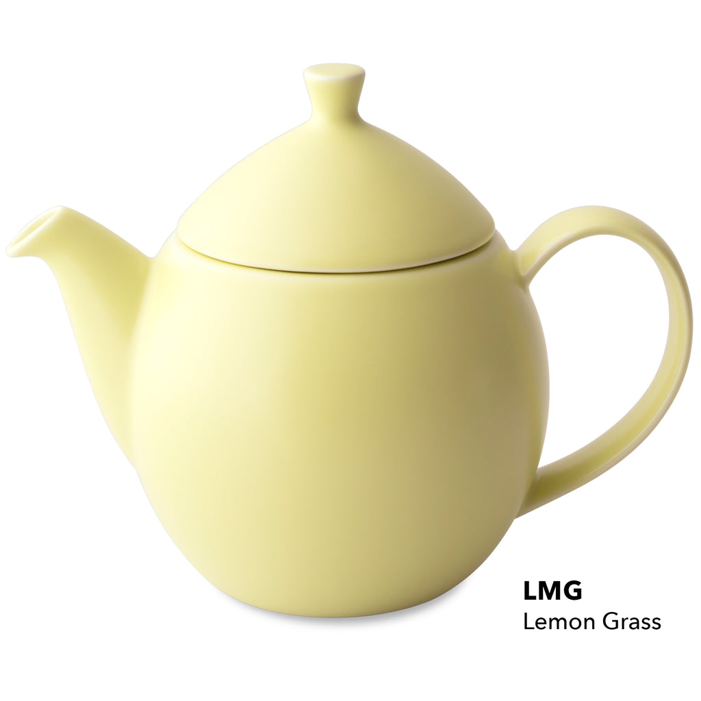 For Life Dew Teapot with infuser and lid LEMONGRASS