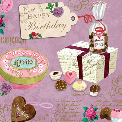 Birthday: Chocolate Kisses