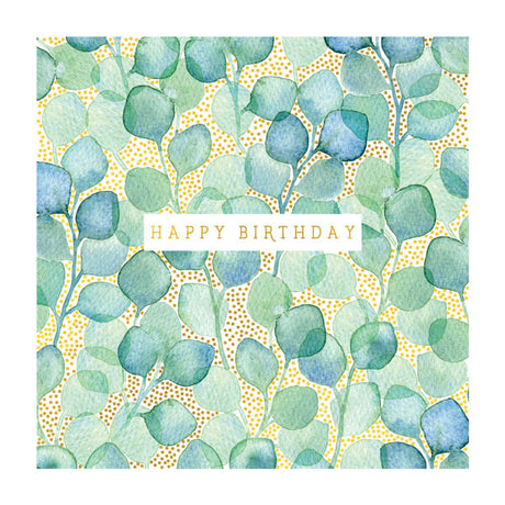 Birthday: Vintage Green