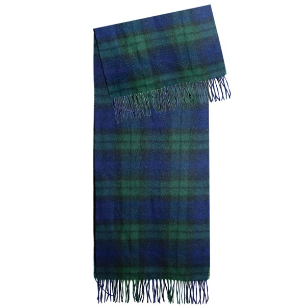 Edinburgh, Black Watch,  Lambswool Scarf