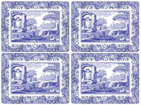 Pimpernel Blue Italian - Placemat
