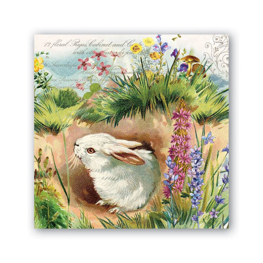 MICHEL Design - Bunny Hollow  - Lunch Napkins