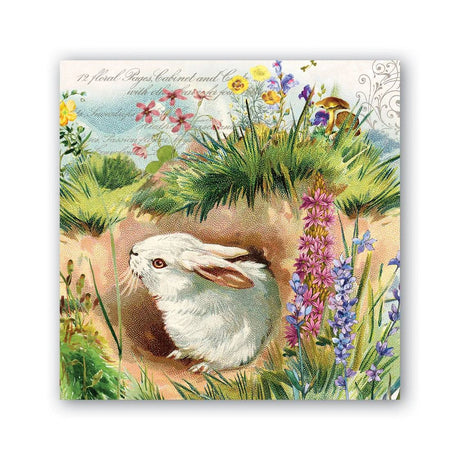 MICHEL Design - Bunny Hollow  - Luncheon Napkins