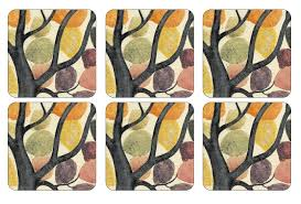 Pimpernel Dancing Branches - Coaster