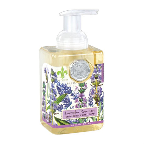 MICHEL Lavender and Rosemary - Foaming Shea Butter Hand Soap  $14.99