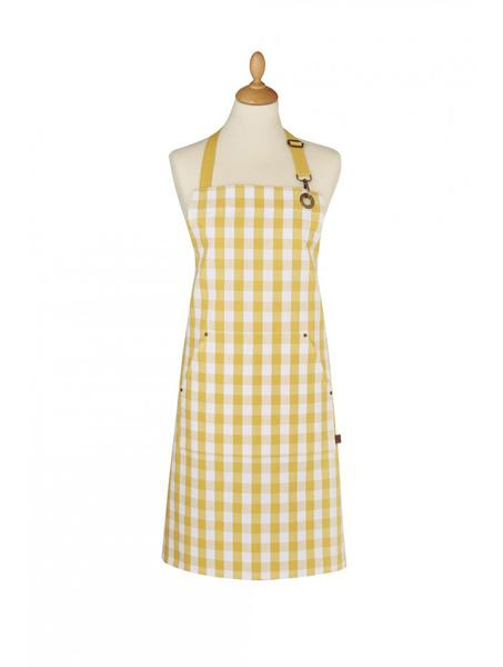 Apron, Gingham Yellow by Ulster Weavers