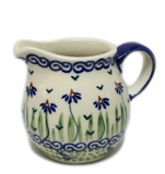 Boleslawiec Polish Pottery - Dancing Garden Creamer & Sugar Bowl Set