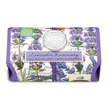 MICHEL Lavender Rosemary - Shea Butter Soap  $14.99