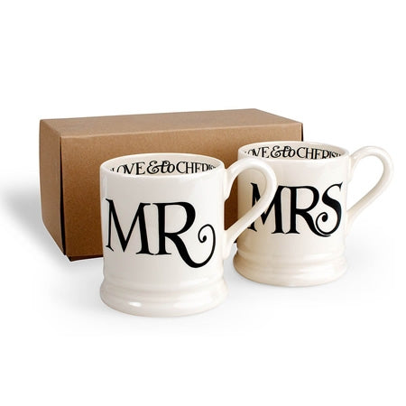 Emma Bridgewater  Mug Set - Mr & Mrs  $78.00