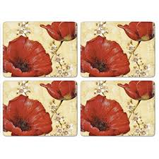 Pimpernel Red Poppy - Placemat  $49.99