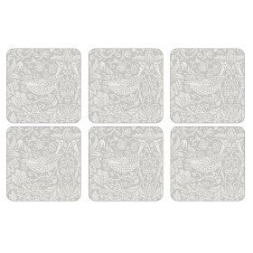Pimpernel Pure Morris Strawberry Thief - Coaster
