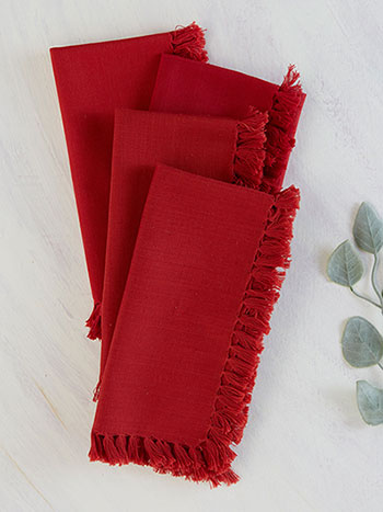 April Cornell, Essential Napkins Red