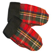 Edinburgh, Royal Stewart,  Wool Mittens, Womens