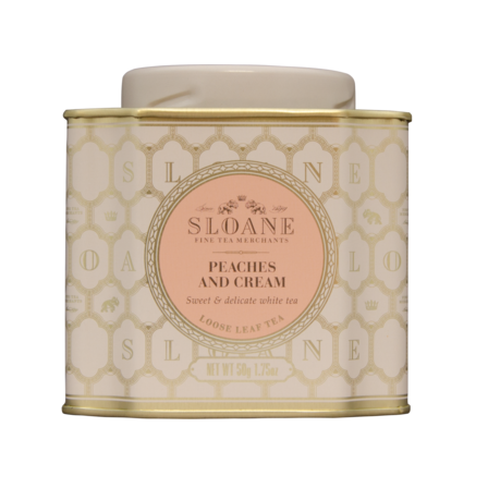 Sloane Loose Leaf - Peaches and Cream White Tea