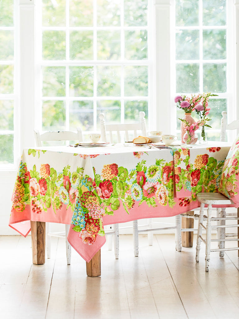 April Cornell, Spring Gathering RECTANGLE Table Cloth 60x90   ARRIVING MID FEBRUARY