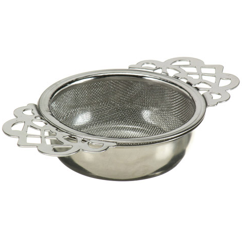 Tea Strainer with Drip tray Empress
