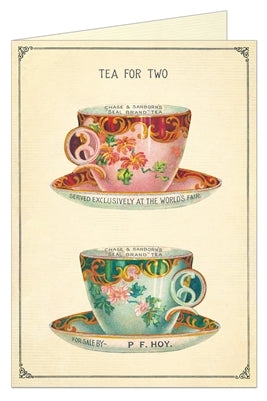 Blank:  Tea for Two