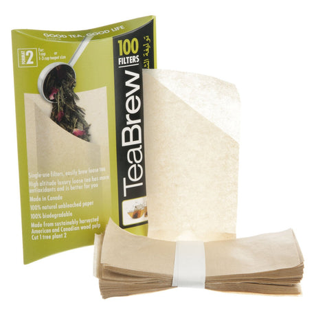 Tea Brewing Paper Filters #2