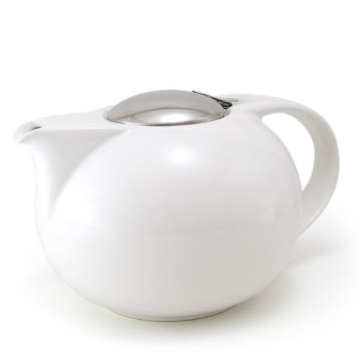 Zero Japan Saturn Teapot with infuser WHITE