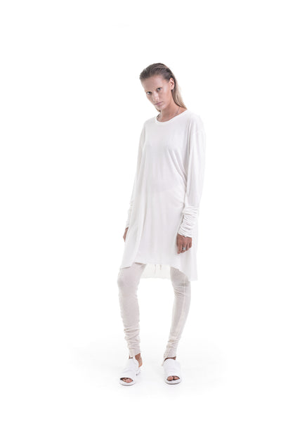 Nordic design, scandinavian design, danish design, white bamboo, cotton t shirt, luxury bamboo t shirt, cotton t shirt, fine white bamboo, oversize cotton top, oversize