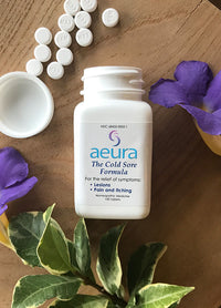 The Cold Sore Formula - Aeura all-natural non-prescription homeopathic medicine
