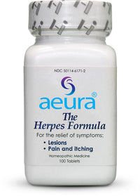 The Herpes Formula - Aeura all-natural non-prescription homeopathic medicine
