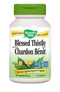 Nature's Way Blessed Thistle Herb - 100 Count