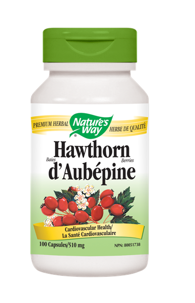 Nature's Way Hawthorn Berries - 100 Count