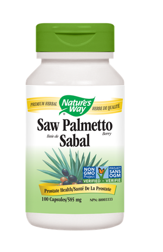 Nature's Way Saw Palmetto Berry - 100 Count