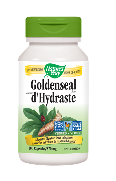 Nature's Way Goldenseal Root - 100 Count