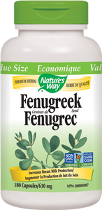 Nature's Way Fenugreek Seed - 180 Count