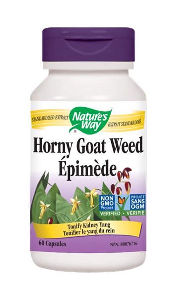 Nature's Way Horny Goat Weed - 60 Count