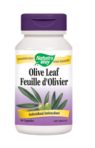 Nature's Way Olive Leaf - 60 Count