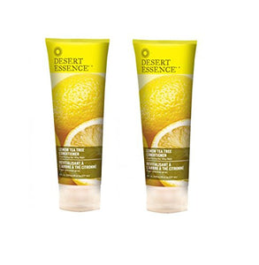 Desert Essence Lemon Tea Tree Conditioner, 8 fl. oz. (Pack of 2)