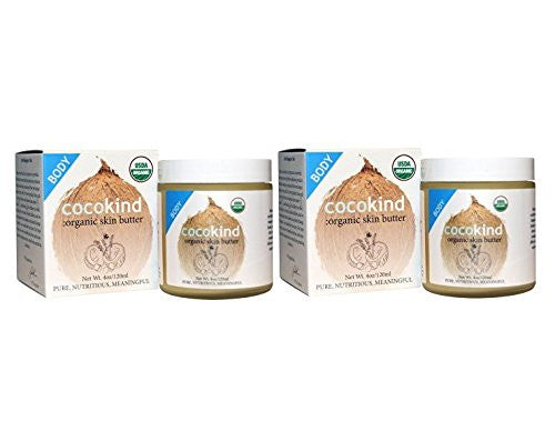 Cocokind Organic Skin Butter, 4 fl. oz. (Pack of 2)