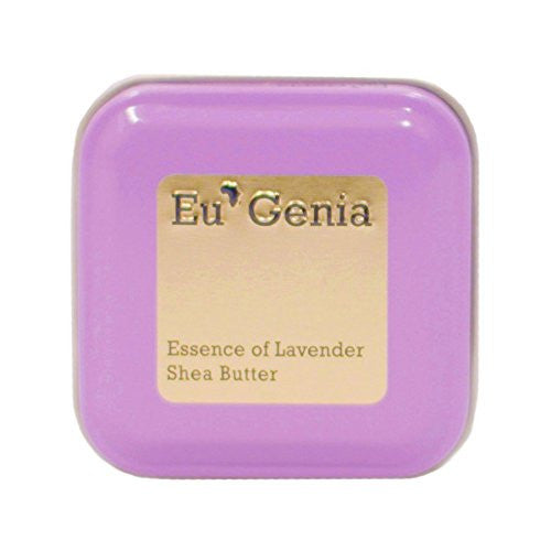 Eu'Genia Lavender Everyday Raw Unrefined Ghanaian Shea Butter, 1.6 oz.