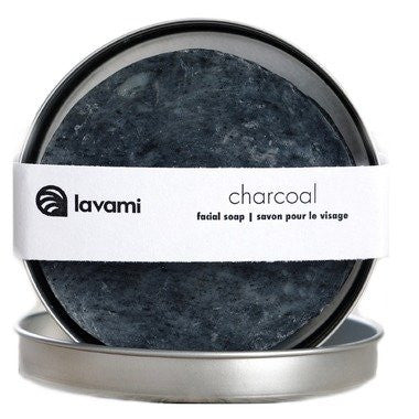 Lavami Charcoal Facial Soap with Activated Charcoal, 80g