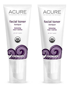 Acure Organics Facial Toner, 2 fl. oz. (Pack of 2)