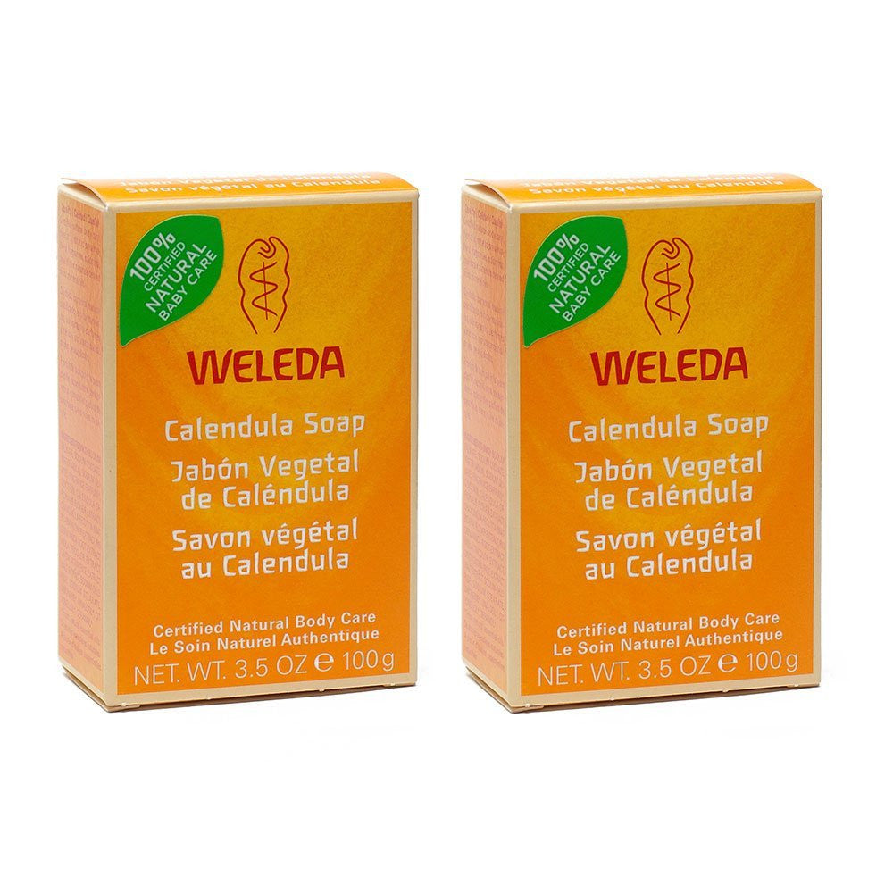 Weleda Calendula Soap, 3.5 oz. (Pack of 2)