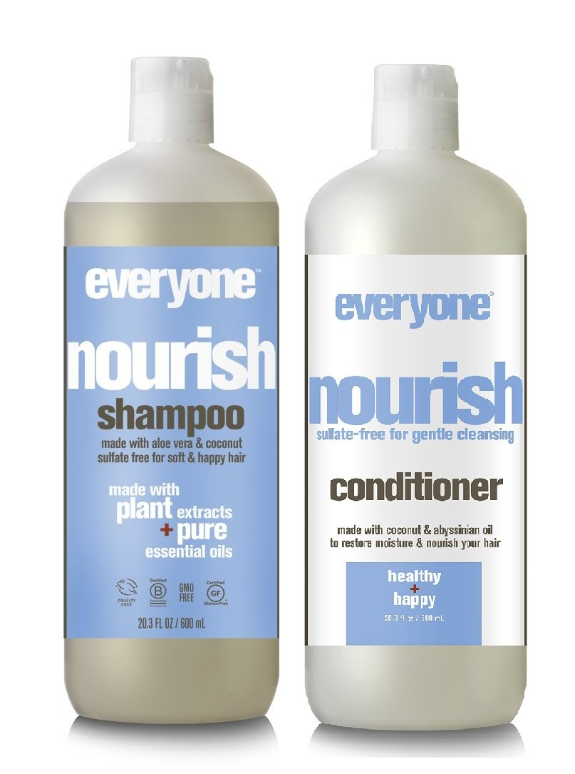 EO Everyone Sulfate Free Nourish Shampoo and Conditioner Bundle