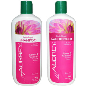 Aubrey Biotin Repair Shampoo and Conditioner