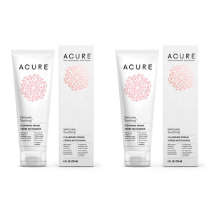 Acure Organics Natural Sensitive Face Wash Cleanser Argan Oil For Face, Jojoba Oil, and Aloe Vera Extract