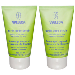 Weleda Birch Body Scrub, 5 fl. oz. (Pack of 2)