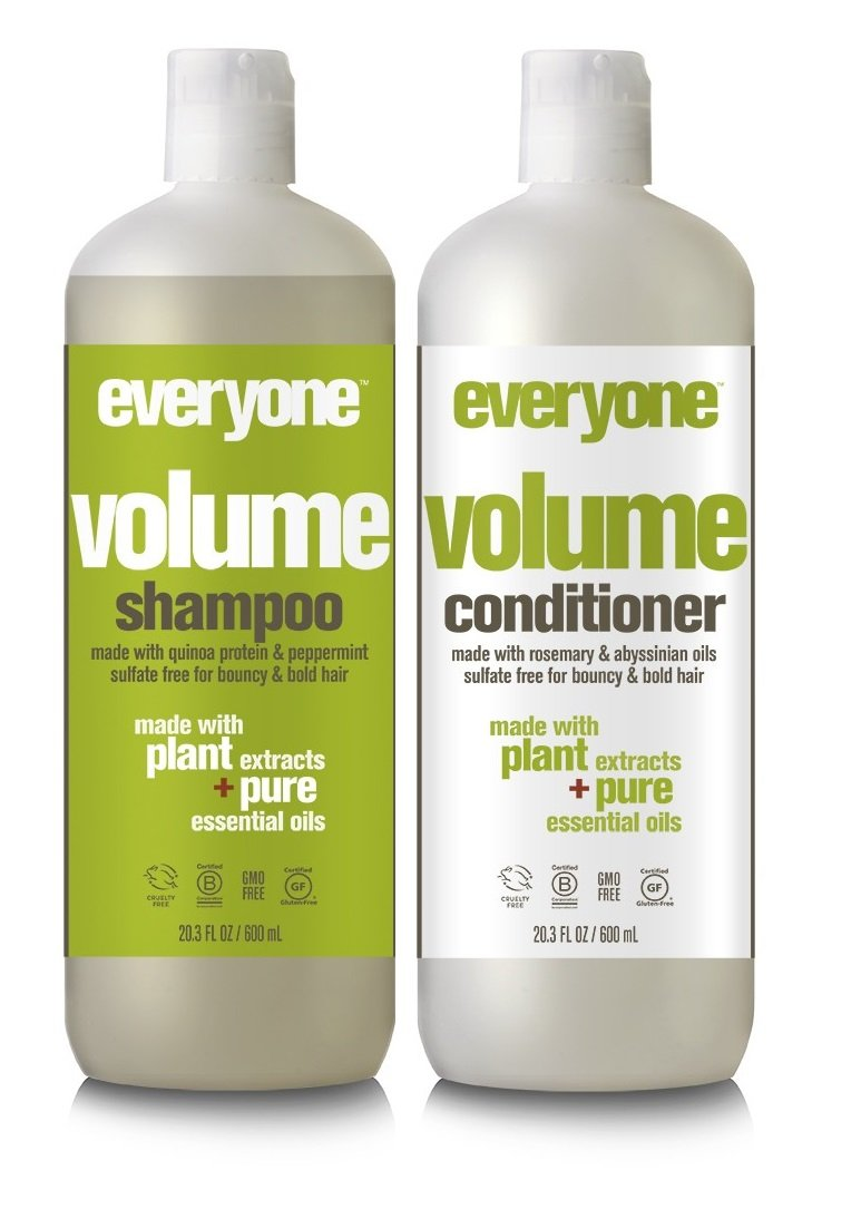 EO Everyone Hair Sulfate Free Volume Shampoo and Conditioner Bundle