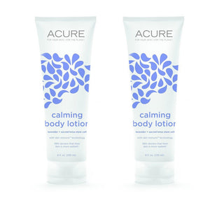Acure Organics Calming Body Lotion, 8 fl. oz. (Pack of 2)