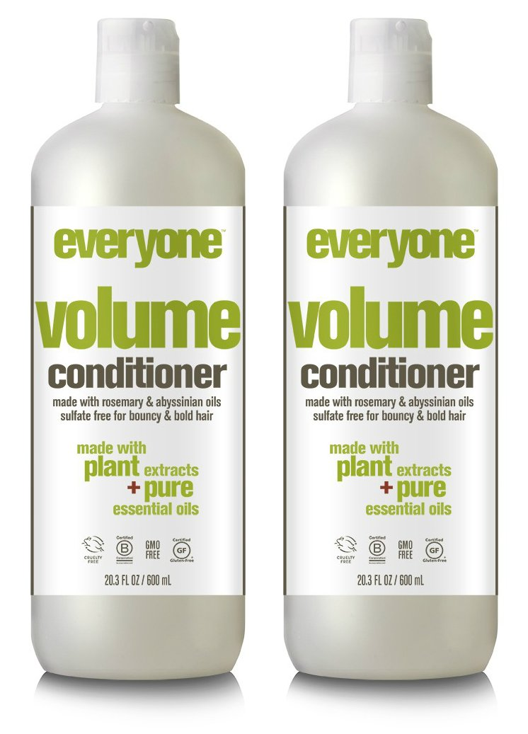 Everyone Hair Volume Sulfate Free Conditioner (Pack of 2)
