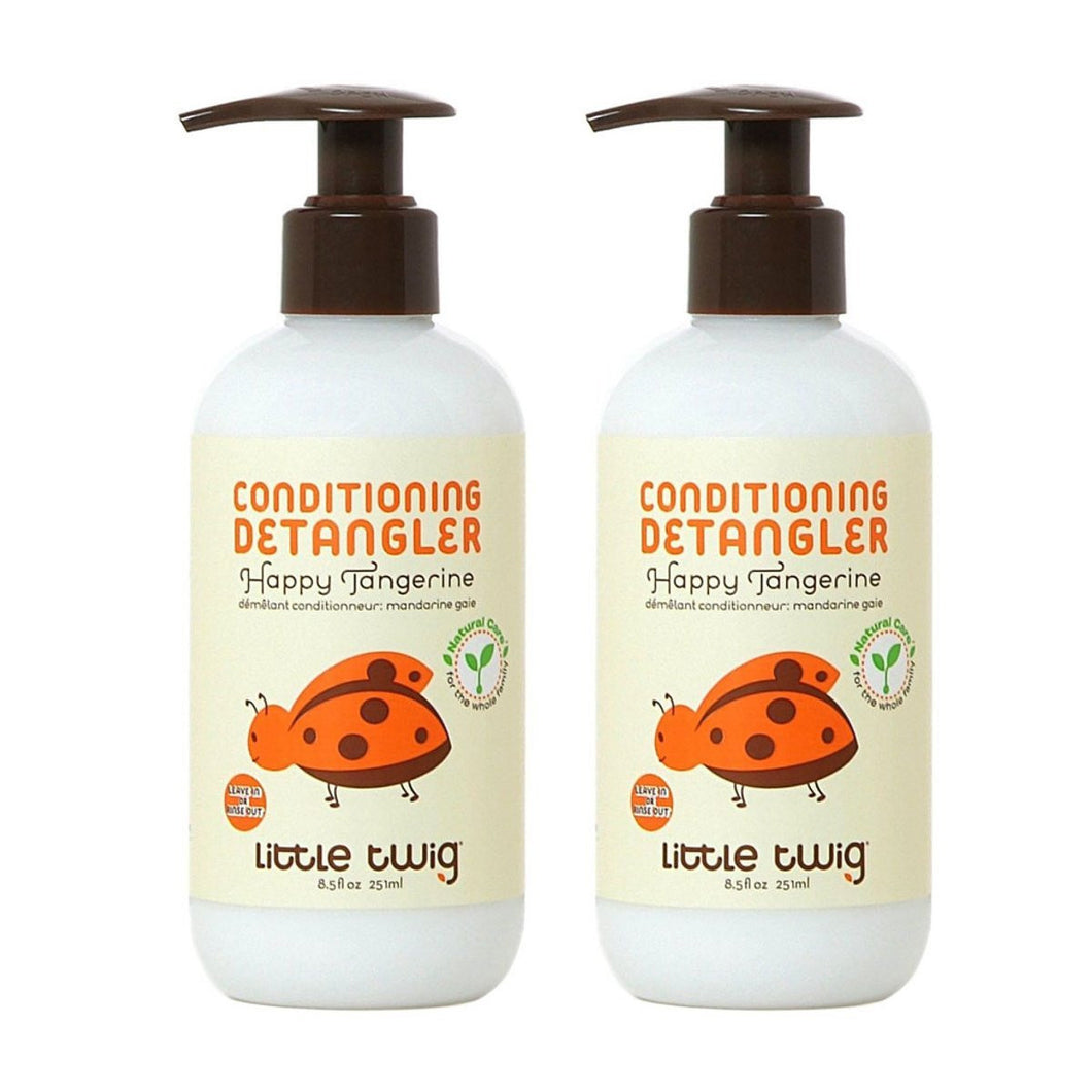 Little Twig Happy Tangerine Conditioner with Blends of Lemon, Tangerine and Rosemary, 8.5 fl. oz. (Pack of 2)